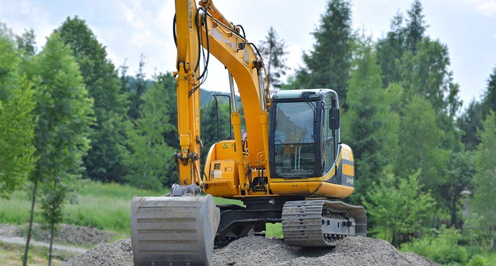 Alquiler de maquinaria para construcción de carreteras y caminos